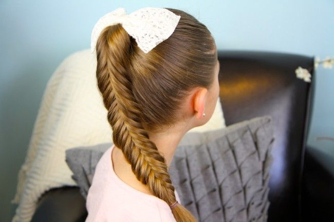Reverse Fishtail Braid 1