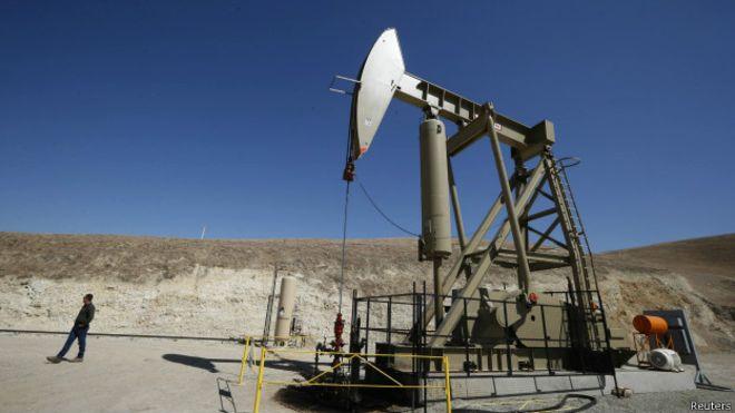 Нефтедобыча в Калифорнии